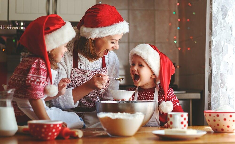 Christmas Baking with Kids