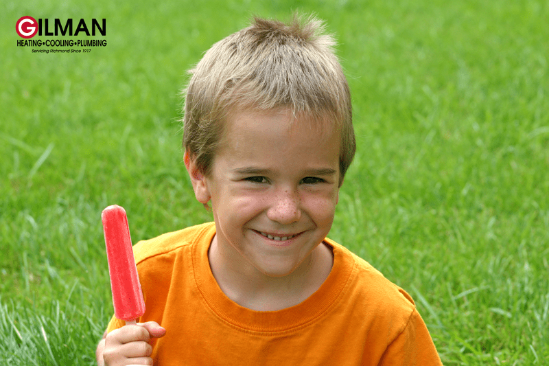 boy with popcicle iStock 98013471