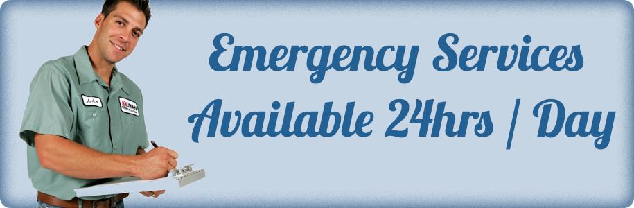 Emergency Services Available 24hrs / Day